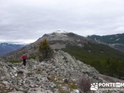 Circo de la Puebla. Sierra del Rincón;rutas y viajes;grupos de montaña